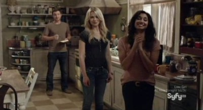 Being Human S3x02 - Good natured banter back at the apartment