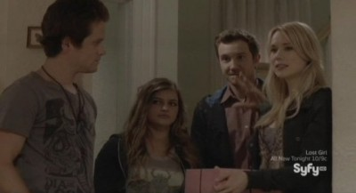 Being Human S3x04 - Josh and Nora arrive at her mothers birthday party with RJ and Erin