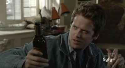 Being Human S3x04 - RJ arrives at the house still drunk and drinking