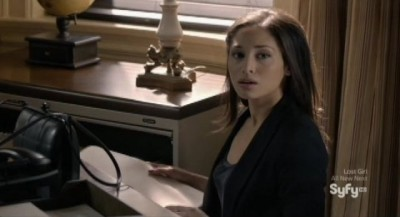 Being Human S3x04 - Sally is caught by Max stealing social security numbers