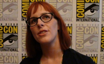 SDCC Comic-Con 2012 - Anna Fricke  thinks about Being Human