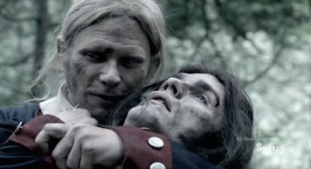 Being Human S3x06 - Bishop turns Aidan in Revolutionary times