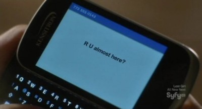 Being Human S3x06 - Erin sends a text message to Liam