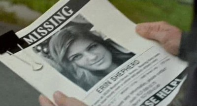 Being Human S3x06 - Missing person Erin flyer