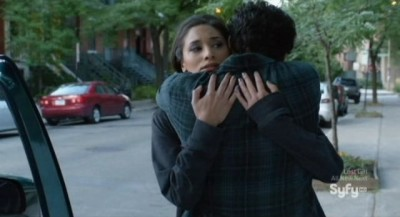 Being Human S3x06 - Sally hugs her brother Robbie