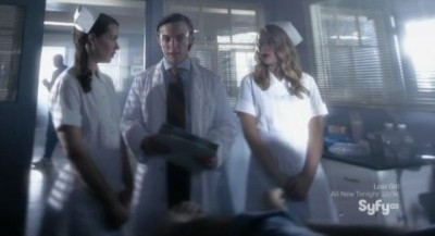 Being Human S3x05 - The nurses explain it to the doctor