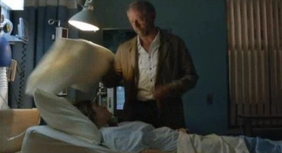 Being Human S3x07 - Liam smothers Erin at the hospital