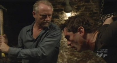 Being Human S3x08 - Liam takes great pleasure in torturing Aidan