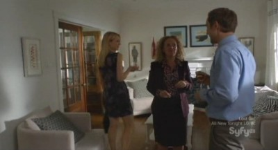 Being Human S3x08 - Martha the real estate agent shows Nora and Josh the mansion