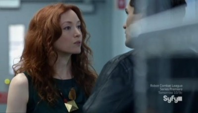 Being Human S3x07 - Aidan and Blake confrontation!