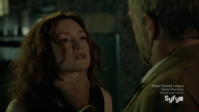 Being Human S3x07 - Blake and Liam in the alley way