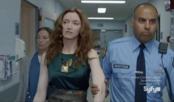 Being Human S3x07 - Blake is escorted from the premises