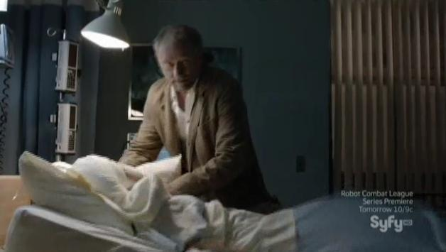 Being Human S3x07 - Liam kills Aaron in the hospital