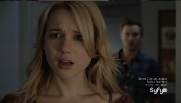 Being Human S3x07 - Nora in shock when she sees Aaron is dead