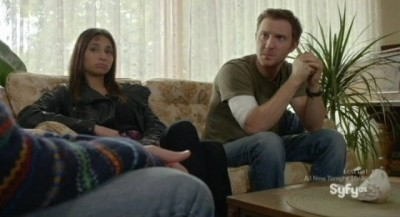 Being Human S3x10 - Josh and Sally have a chat with Stevie