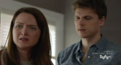 Being Human S3x10 - Nick Fenn returns as a ghost to haunt Zoe and Sally