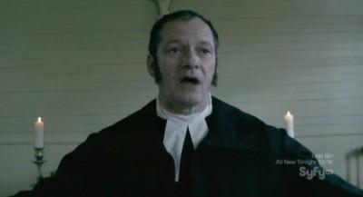 Being Human S3x10 - Reverend Herring portrayed by Bruno Verdoni