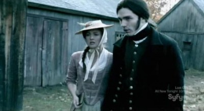 Being Human S3x10 - Susanna and Aidan Waite in the 18th century