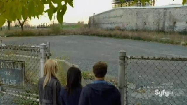 Being Human S3x11 - Soup Kitchen in now a vacant lot!