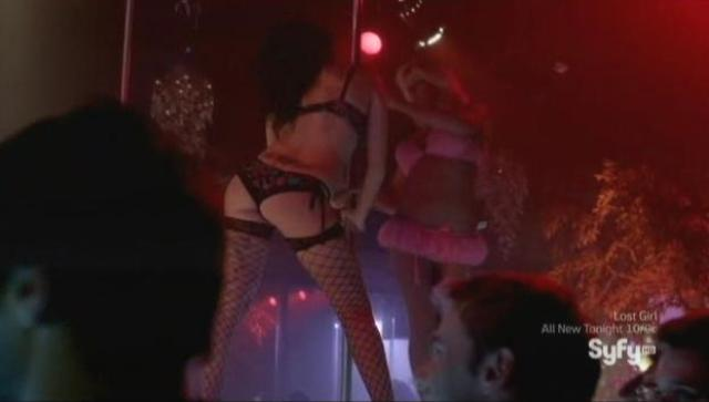 Being Human S3x11 - Strippers at the club