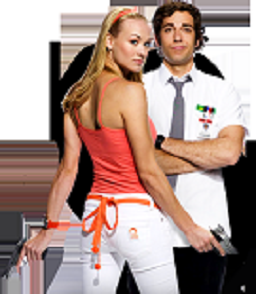 Chuck and Sarah Promo Banner - Click to visit NBC!