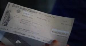 Chuck S5x03 - A 2 million plus check for Team Chuck