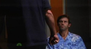 Chuck S5x04 - Casey goes to convince the bartender