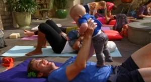 Chuck S5x04 - Devon with baby Clara