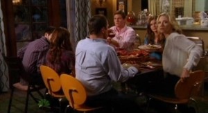 Chuck S5x04 - Dinner is called early