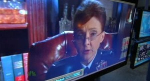 Chuck S5x04 - General Beckman on video conference
