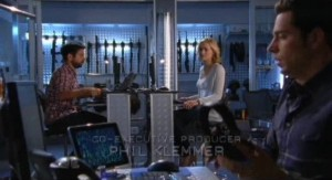 Chuck S5x05 - Back at Castle with Morgan Sarah and Chuck