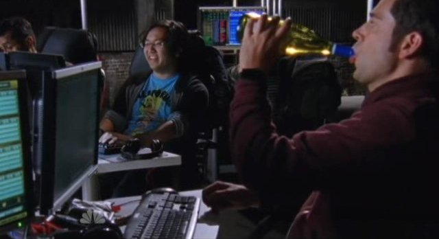 Chuck S5x05 - Chuck gets ready for the Hack Off