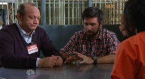 Chuck S5x05 - Jeff and Morgan visit Lester