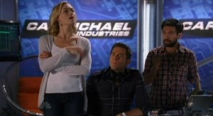 Chuck S5x05 - Sarah Chuck and Morgan reluctantly agree