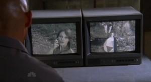 Chuck S5x05 - Valeria orders an ID check on Chuck and Sarah