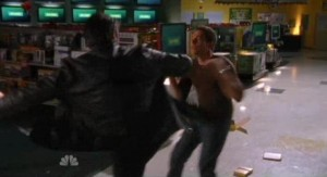 Chuck S5x07 - Chuck and Shaw fight to the death