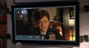 Chuck S5x07 - General Beckman calls