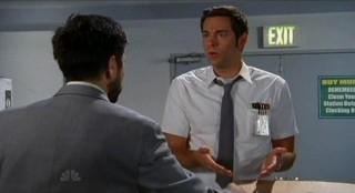 Chuck S5x08 - Chuck says Morgan can hang at Castle