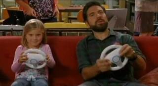Chuck S5x08 - Morgan and Molly play video games