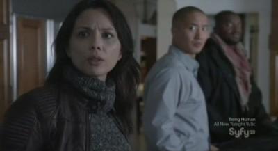 Continuum S1x02 - Liber8 Team 2012 Lexa Doig as Sonya and Terry Chen as Curtis