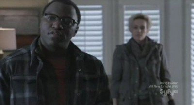 Continuum S1x02 - Omari Newton as Lucas and Luvia Petersen as Jasmine