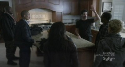 Continuum S1x02 - Stephen Lobo as Kellog calls for a vote to stay in 2012