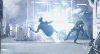 Continuum S1x02 - The temporal device explodes