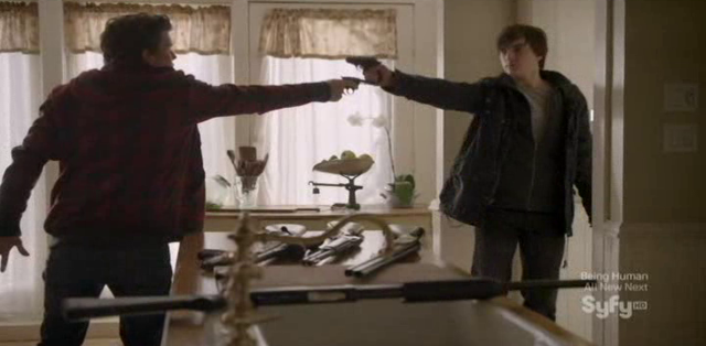 Continuum S1x09 - Family Time - Alec and Julian face off