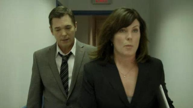 Continuum S2x02 Agent Gardiner and his boss Agent Lewis