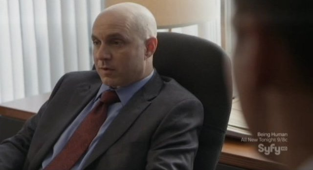 Continuum S1x10 - Brian Markinson as Inspector Dillon meets with Agent Gardiner