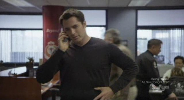 Continuum S1x10 - Carlos calls Kiera to relate the latest development - missing explosives!