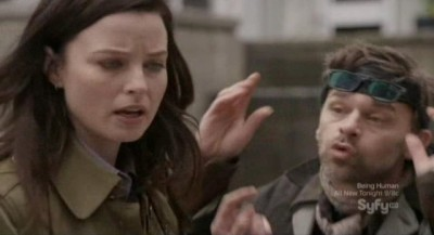 Continuum S1x10 - Jason tells Kiera about his project - a working time machine!