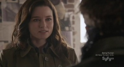 Continuum S1x10 - Kiera explains to Jason she only wants to go home to 2077