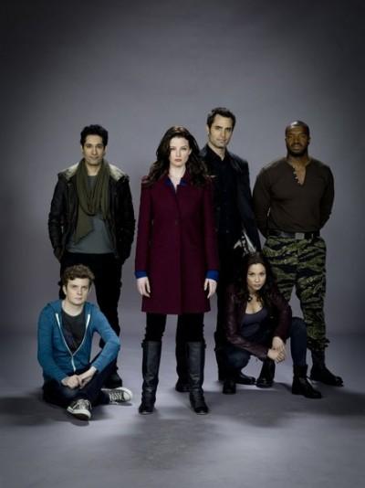 Continuum - Season 1 Cast banner - Image courtesy Syfy